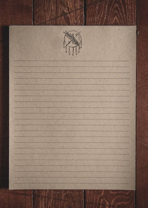 """Oak & Ink Oklahoma Collection Large Notepad 8.5"""" X 11"""""""