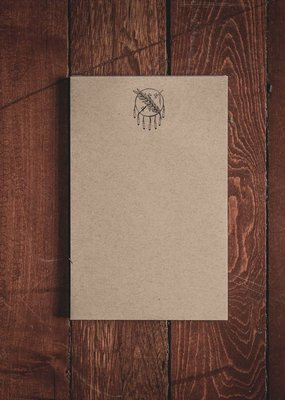 "Oak & Ink Oklahoma Collection Small Notepad 5.5"" X 8.5"""