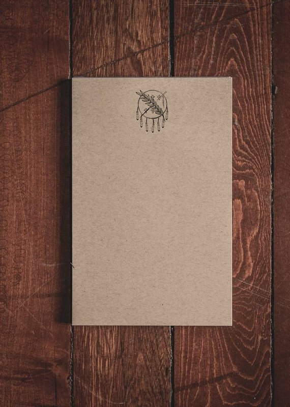 """Oak & Ink Oklahoma Collection Small Notepad 5.5"""" X 8.5"""""""