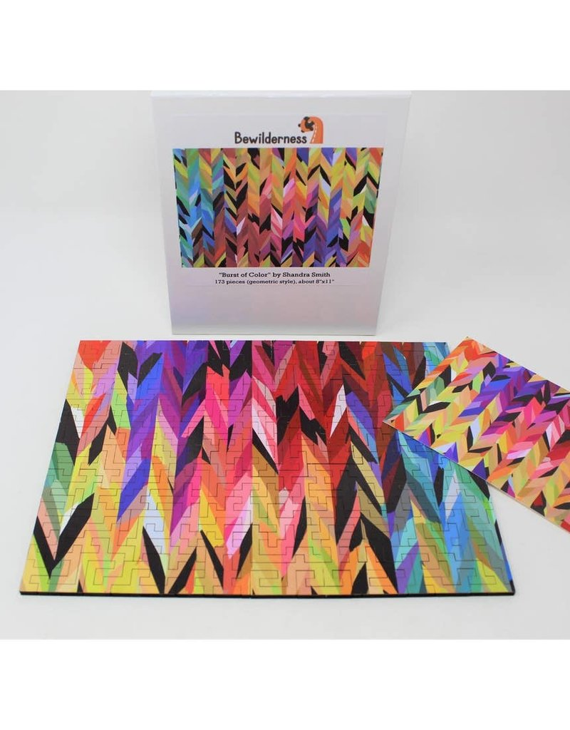Bewilderness Burst Of Color Jigsaw Puzzle 173pc