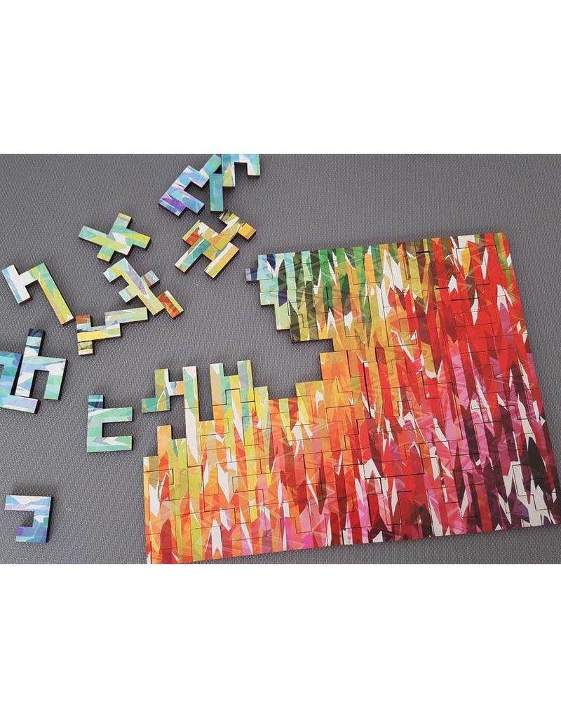 Bewilderness Designer Stripes Jigsaw Puzzle 50pc