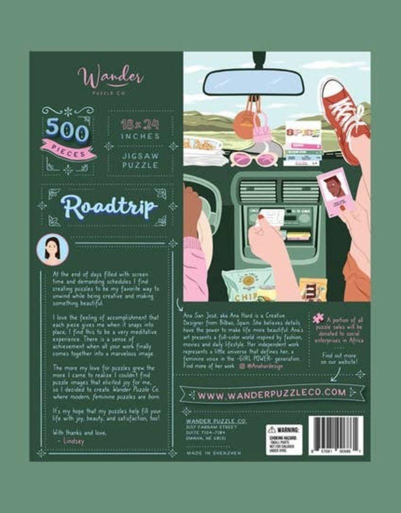 Wander Puzzle Co. Roadtrip Puzzle