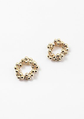 Buffalo Trading Co. Gold Ball Studs