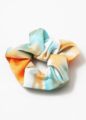 Buffalo Trading Co. Tie Dye Scrunchie Blue/Orange