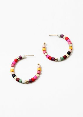 Buffalo Trading Co. Block Bead Hoops