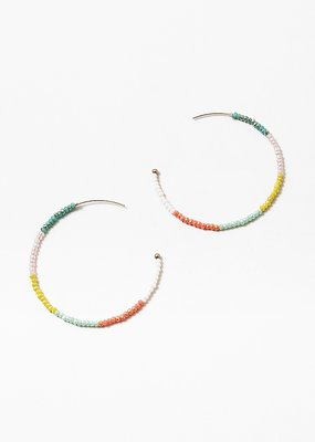 Buffalo Trading Co. Multi Bead Hoops