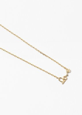 Buffalo Trading Co. Love Necklace Gold