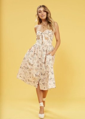Mink Pink Tropical Tides Dress