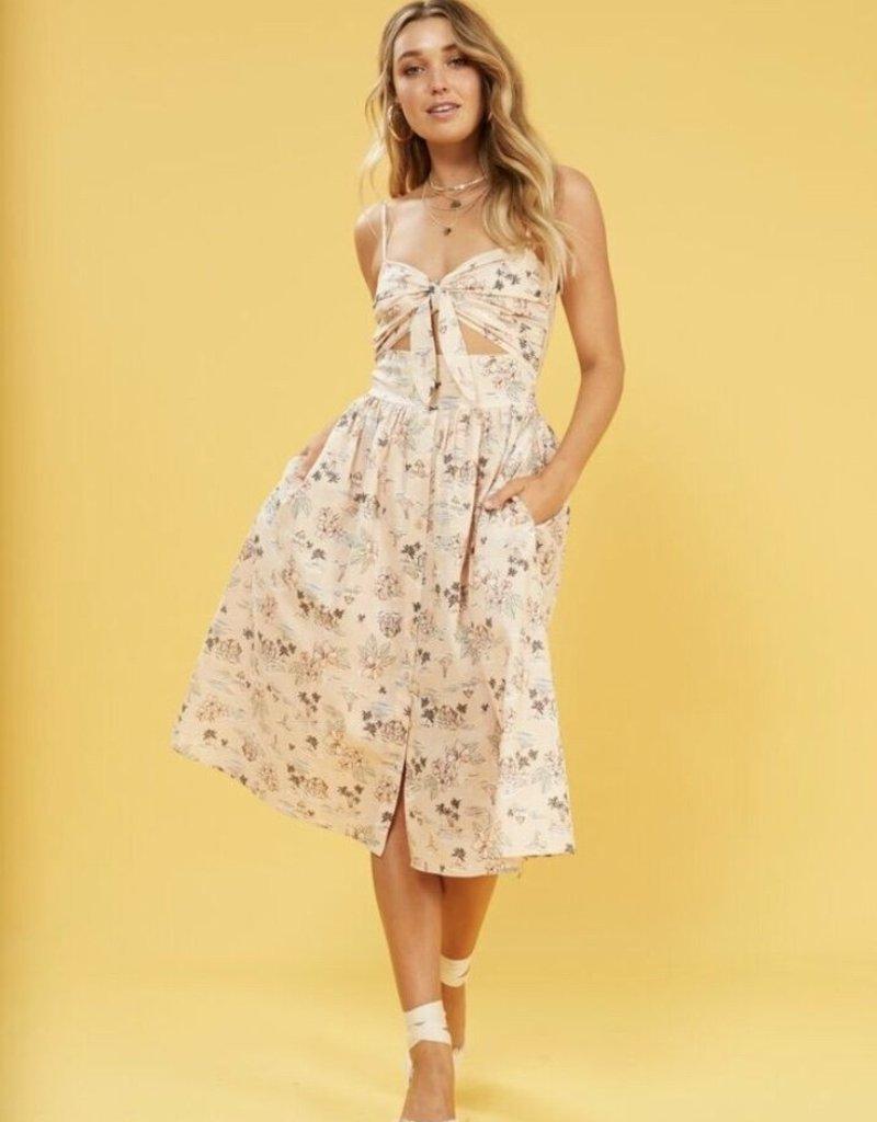 Mink Pink Tropical Tides Dress