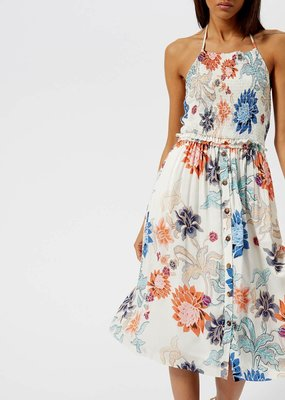 Mink Pink Zion Smock Halter Dress