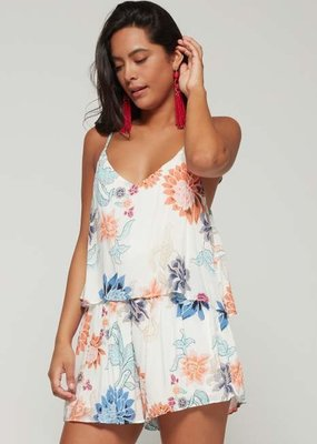 Mink Pink Zion Layered Playsuit