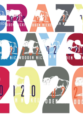 Wooden Nickel Exclusive Crazy Days 2020 T-Shirt