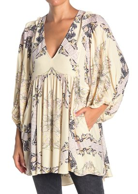 Free People Girl Talk Tunic