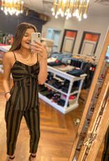 Lush Clothing Twist Front Jumpsuit