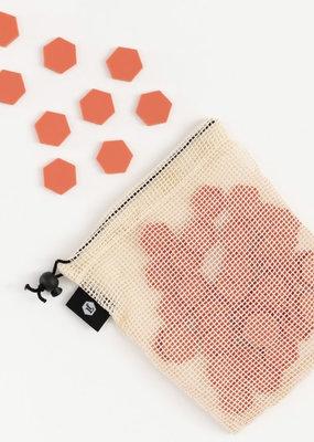 Ladyfingers Letterpress Summer Tile Set Desert Bloom