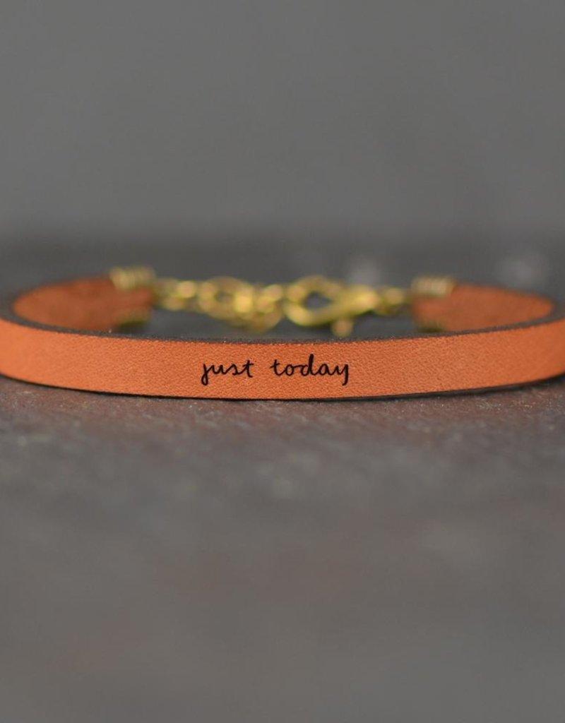 Laurel Denise Just Today Brown Leather Bracelet - Standard