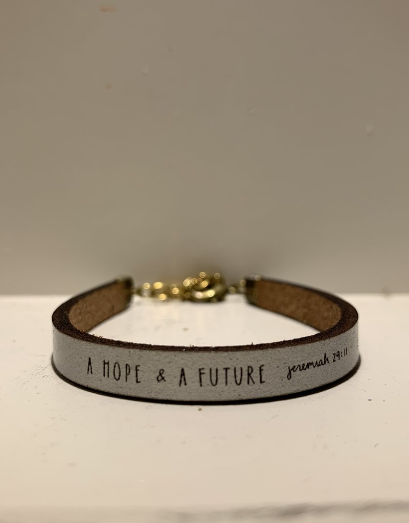 Laurel Denise A Hope And Future Silver Bracelet Standard