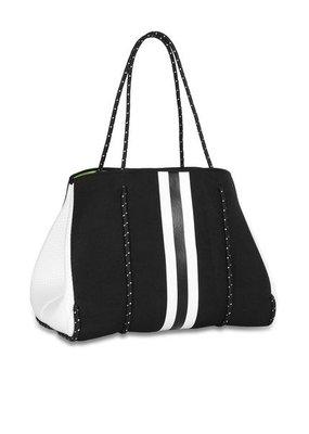 Haute Shore LTD. Greyson Twist Black Linen/White Black/White Stripe