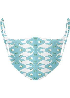 Laura Park Designs Palm Blue Face Mask - Adult