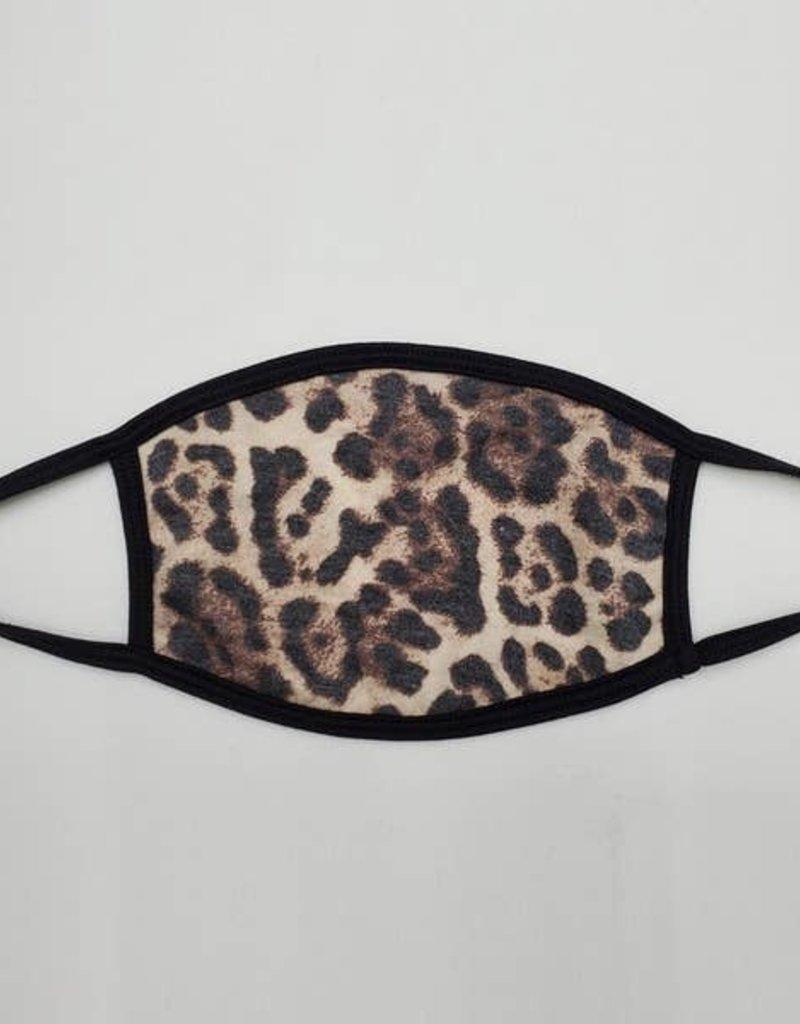 Buffalo Trading Co. Leopard Printed Face Mask