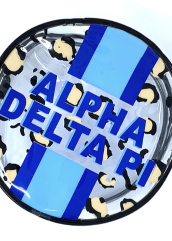 Over the Moon Alpha Delta PI Cosmetic Bag