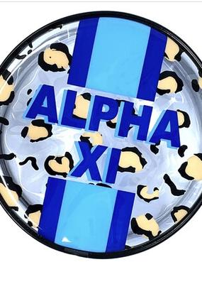 Over the Moon Alpha Xi Delta Cosmetic Bag