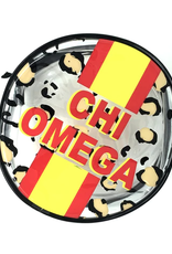 Over the Moon Chi Omega Cosmetic Bag