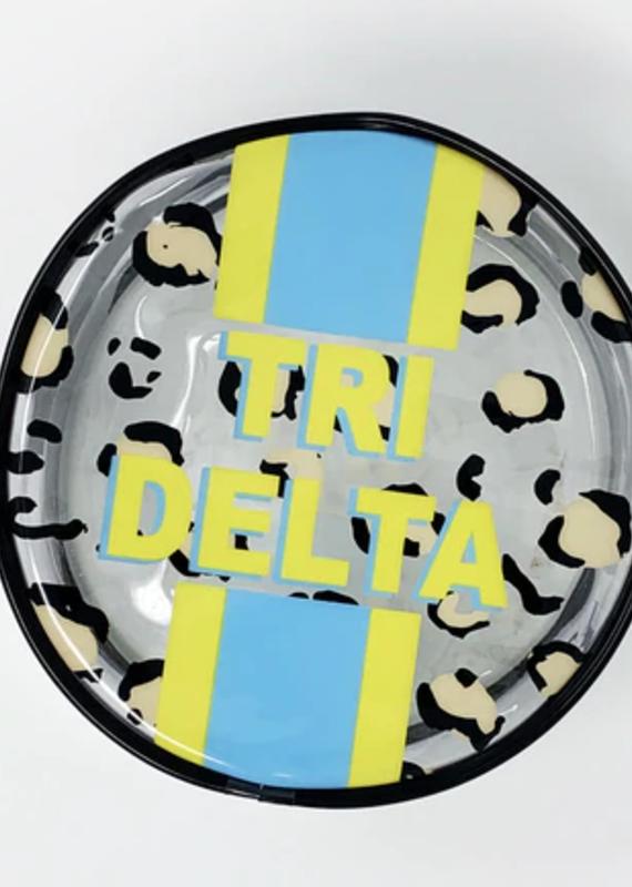 Over the Moon Delta Delta Delta Cosmetic Bag