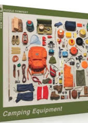 New York Puzzle Co. Camping Equipment Puzzle