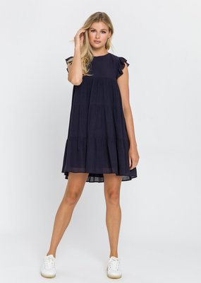 La'Ven Ruffled Tiered Dress