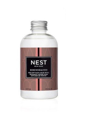 NEST Fragrances Reed Diffuser Liquid Refill Rose Noir & Oud