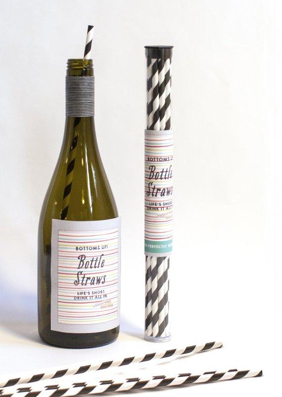 Curvy Girl Designs Wine Bottle Straw Pack (12)