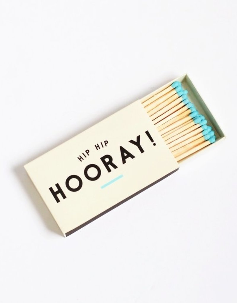 "Creative Co-Op Hooray! Matchbox 4"""