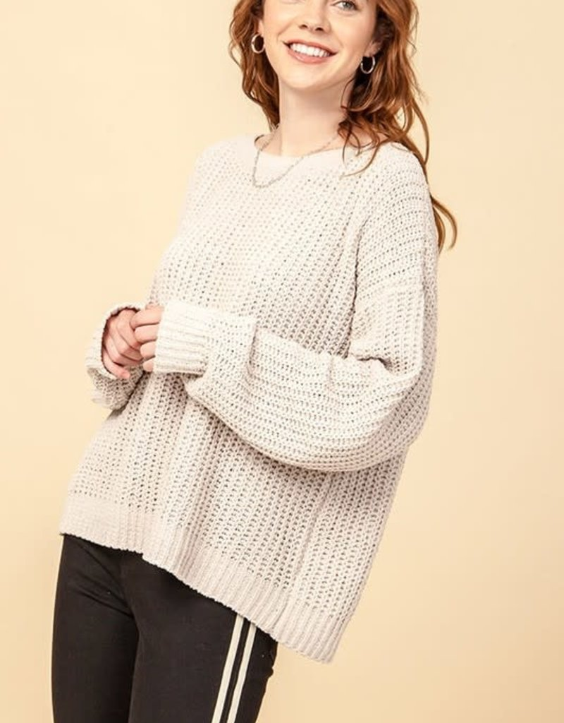 Meraki All Star Chenille Sweater