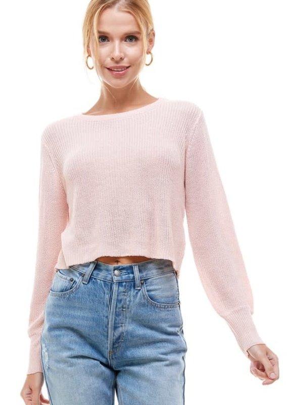 Meraki September Crop Sweater