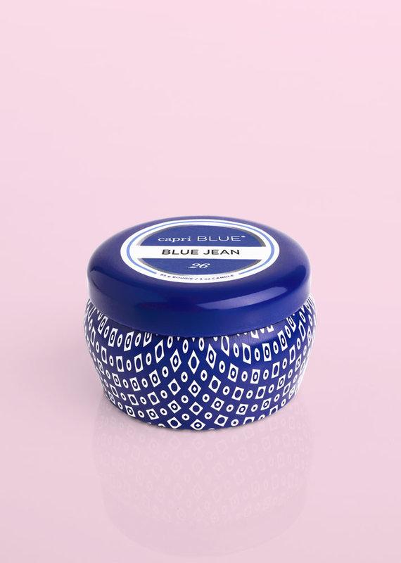 Capri Blue 3oz. Blue Mini Tin Candle Havana Vanilla