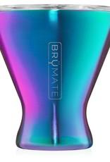 BrüMate Margtini Martini/Margarita Tumbler Rainbow Titanium