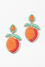 Peach Earring Orange
