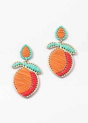 Peach Earring Orange