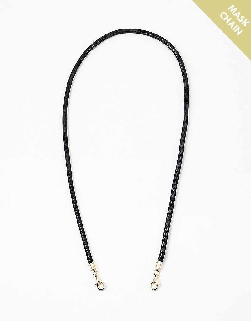 Lanyard Mask Chain Black