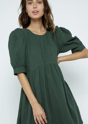 Buffalo Trading Co. Balanced Babydoll Dress