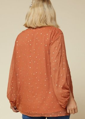 Buffalo Trading Co. Pistols Star Blouse