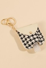 Houndstooth Mini Handsanitizer Holder