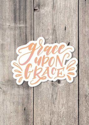 Krystal Whitten Studio Grace Upon Grace Sticker