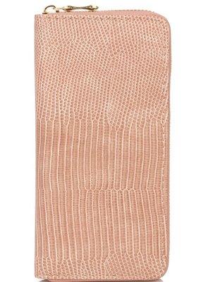 Buffalo Trading Co. Snakeskin Wallet Pink