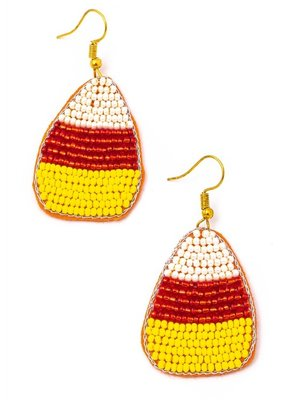 Buffalo Trading Co. Candy Corn Earrings