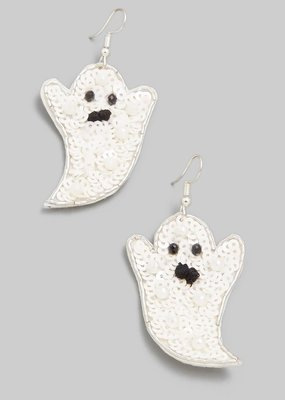 Buffalo Trading Co. Spooky Ghost Earring