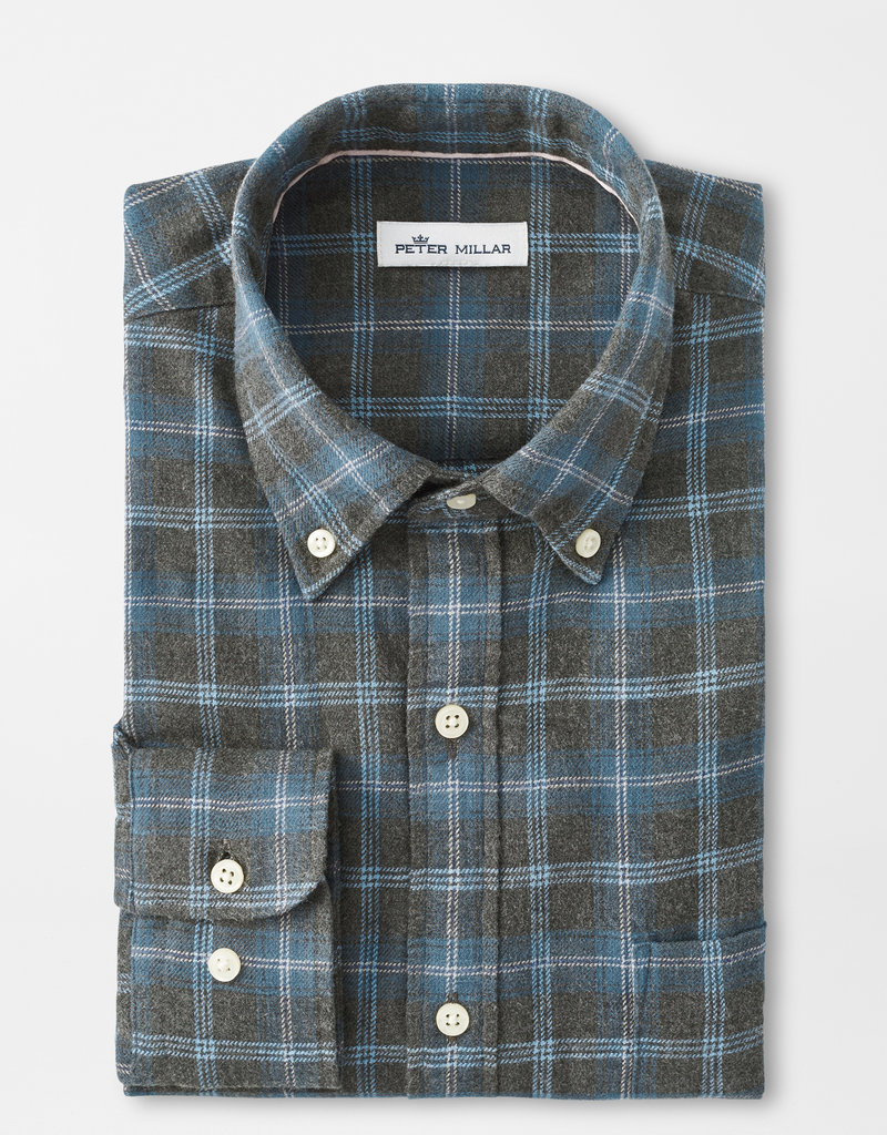 Peter Millar Greymouth Flannel Sportshirt