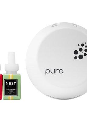 NEST Fragrances PURA Smart Diffuser Holiday & Birchwood Pine