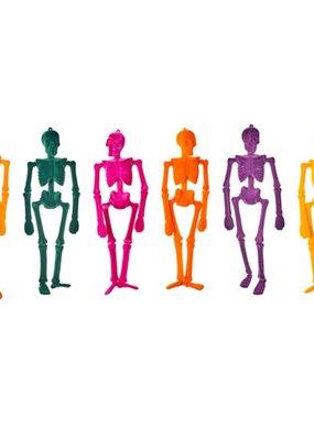 """One Hundred 80 Degrees Flocked Skeleton 16"""" Marigold"""